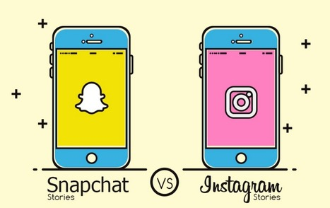 Infographie : Snapchat Story vs Instagram Stories  | Actualité Social Media : blogs & réseaux sociaux | Scoop.it