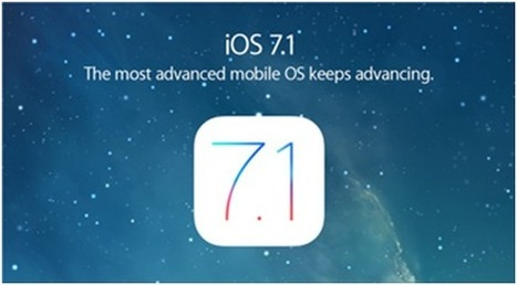 Apple iOS 7.1 – mixed bag of performance and UI improvements | Best Smartphones - Tech News - WhatsUp Markets | Scoop.it