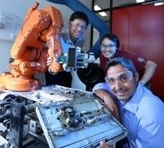 Robots put to work on e-waste | UNSW Newsroom | Cultibotics | Scoop.it