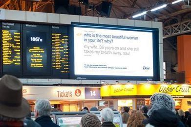 Dove erects Valentine's Day 'tweet screen' | Advertising news | Campaign | Psychology of Consumer Behaviour | Scoop.it