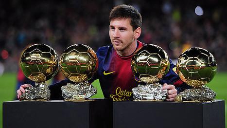 Messi, Ribéry y Ronaldo, finalistas oficiales al Balón de Oro 2013 | Deportes | Scoop.it
