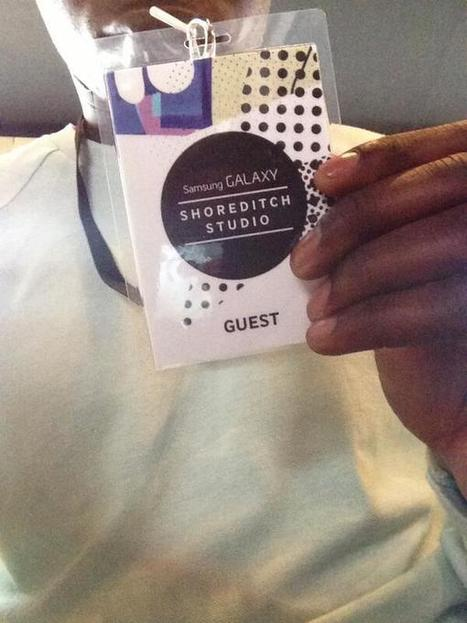 Twitter / Day_R_Matthews: The @SamsungMobileUK exhibition ...   Trends on vip passes   Scoop.it
