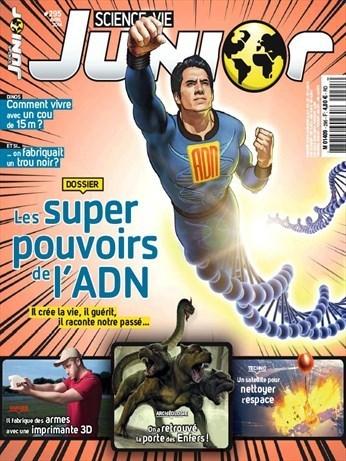 Science et Vie Junior n° 295 | Revue de presse du CDI du Collège Langevin d'Hennebont | Scoop.it