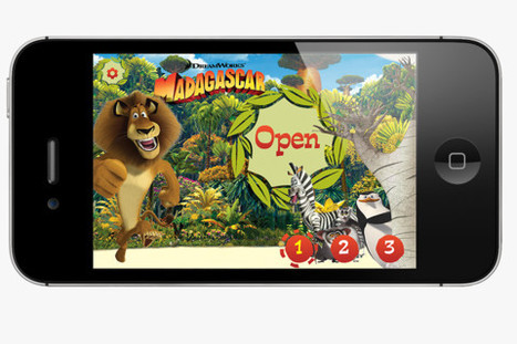 Kids App News - All Madagascar Movie storybooks in one app! - Fun Educational Apps: Top Apps for Kids Reviews! | idevices for special needs | Scoop.it