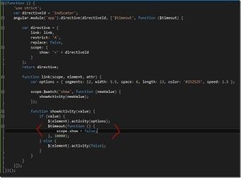 NETEYE Activity Indicator directive for angularJS | Development on Various Platforms | Scoop.it