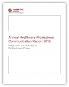 Annual Healthcare Professional Communication Report 2016 | Pharmaguy's Insights Into Drug Industry News | Scoop.it