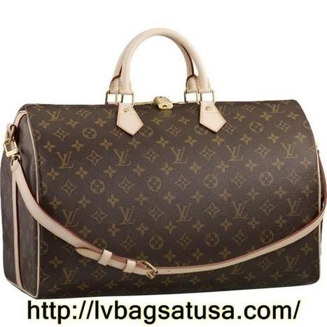 Louis Vuitton Speedy 40 Monogram Canvas M40393 Handbags | Louis Vuitton Outlet Online Authentic_lvbagsatusa.com | Scoop.it