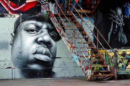 Photos du Jour - Notorious BIG en mode graffitis | Rap , RNB , culture urbaine et buzz | Scoop.it