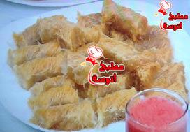 وصفة كنافة ملفوفة سادة من برنامج على قد الايد لـ الشيف نجلاء الشرشابي (حلقات رمضان 2015) ~ مطبخ أتوسه على قد الايد | مطبخ أتوسه | Scoop.it