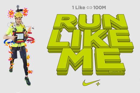 La folle opération de Nike : à chaque nouveau «Like», il court 100 mètres ! | Today's New Social Marketing channels | Scoop.it