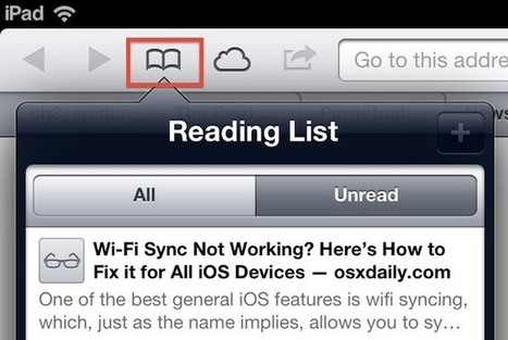 Use Safari's Reading List to Send & Share Links Between Macs & iOS Devices | Ed & Tech | Scoop.it