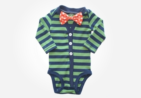 Nerdy Baby Onesies: 8 Ways to Bring Nerd Style to the Crib | Gift Guide | Scoop.it