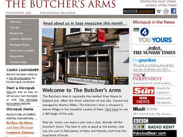 The Butcher's Arms | Pubs and real ale | Scoop.it