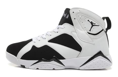 Air Jordan 7 Retro Men's Shoes white black [airjordan7retro_009] - $81.99 : Cheap Nike Shoes Online, Lovely Air Jordan Sale 75% OFF, www.lovelynike.org | Nike Shoes | Scoop.it