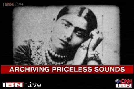 Music scholar attempts to create national sound archive - IBNLive | History of sound recordings | Scoop.it