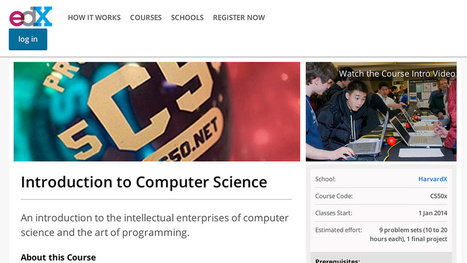 Learn to Code at Harvard for Free | Social Sciences | Scoop.it