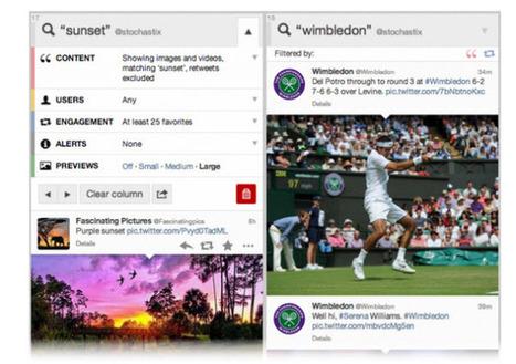 TweetDeck se actualiza con opciones para personalizar las vistas previas | En las redes. | Scoop.it