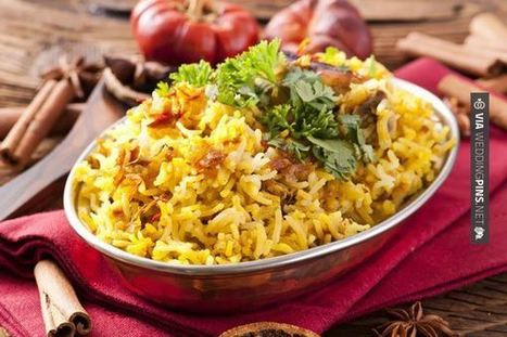Wedding Food Ideas - Hyderabads Biryani indian #wedding #food | wedding pictures | Scoop.it