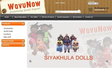 Wavunow.com, dal Sudafrica l'e-commerce sociale | Web for No profit | Scoop.it