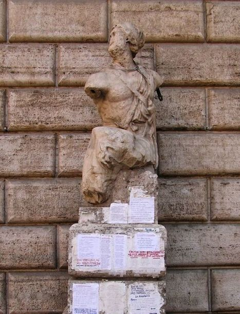 This Statue is a 500-Year-Old Snark Message Board | Strange days indeed... | Scoop.it