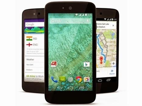 Google lança primeiros smartphones de baixo custo Android One na Índia | Android Brasil Market | Scoop.it