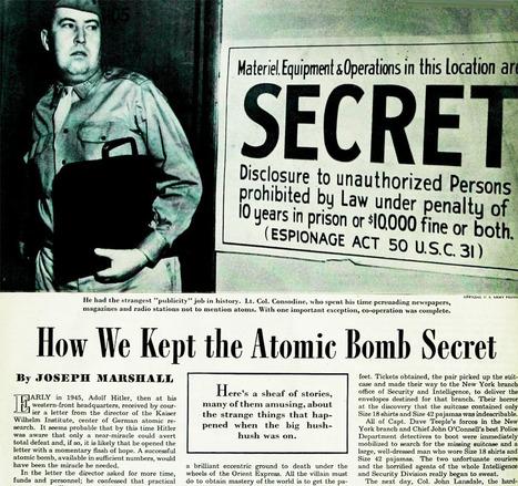 HSI: Historical Scene Investigation Primary #2 | Manhattan Project | Scoop.it