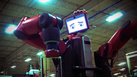 For Robots Like Baxter, The Interface Becomes A Personality | Cool Gadgets please | Scoop.it
