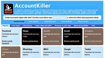 Para la muerte digital y reticular: opciones para borrar nuestro rastro de Internet | Maestr@s y redes de aprendizajes | Scoop.it