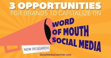 New Research Shows Social Media Word-of-Mouth Rising | New media marketing and communications | Scoop.it