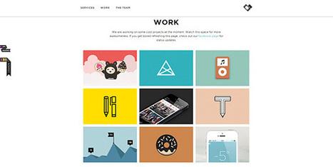 40+ Excellent Examples of Flat Website Design | Flat design | Scoop.it