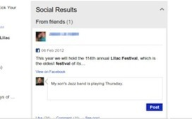 Bing Adds Direct Facebook Interaction to Social Sidebar | Personal Branding and Professional networks | Scoop.it