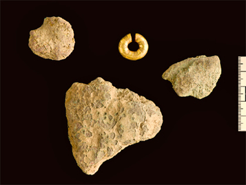 Gold hair-ring worn by high-status figure shows value of metal in Bronze Age ... - Culture24 | Bronze Age | Scoop.it
