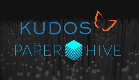 Kudos announces pilot integration with PaperHive, helping authors track and manage conversations about their publications | Research Tools Box | Scoop.it
