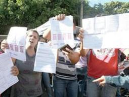 Provas da Saneago apresentam falhas e candidatos protestam - Radio Rio Vermelho | Concursos públicos | Scoop.it