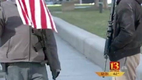 Men With Loaded Rifles Intimidate Moms Gathered At Gun Safety Rally | DidYouCheckFirst | Scoop.it