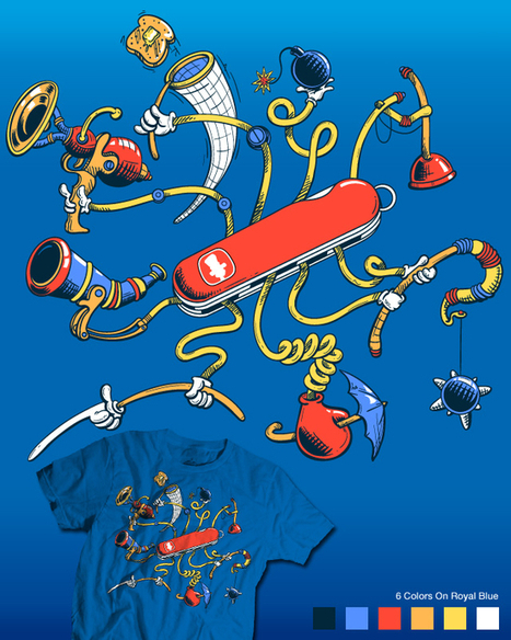 Swiss Army Librarian » Seuss Army Knife :: Brian Herzog | Librarian Blogs | Scoop.it