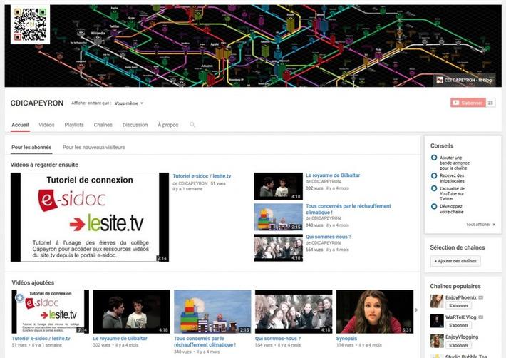 FOCUS | La chaîne YouTube du CDI | TIC et TICE mais... en français | Scoop.it