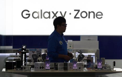 Samsung ordonne l'arrêt de la vente du Galaxy Note 7, après de nouvelles explosions | Smartphones et réseaux sociaux | Scoop.it