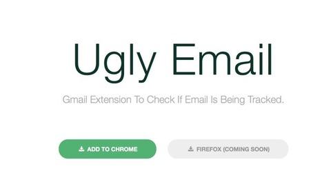 UglyMail. Savoir si le mail que vous recevez est tracké | Les outils de la veille | Les outils du Web 2.0 | Scoop.it