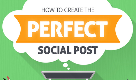 Social Media for Beginners: How to Create the Perfect Social Media Post | Social Media Marketing For Non Profits | Scoop.it