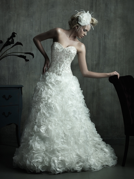 Rent Allure Couture Wedding Dresses Online RentTheDress.com | Wedding Dresses | Scoop.it