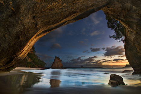 Cathedral Cove by Yan Zhang | Music, Videos, Colours, Natural Health | Scoop.it