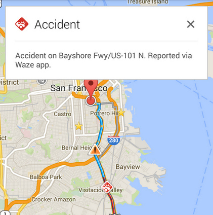 Waze Data Is Starting To Show Up In Google Maps | All Things Location-Based | Scoop.it