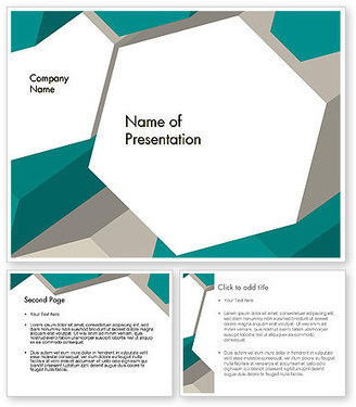 Abstract Geometric PowerPoint Template | PowerPoint Presentations and Templates | Scoop.it