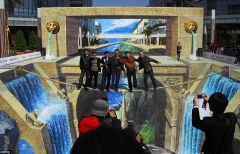 World's Largest 3D Painting | Oddity Central - Collecting Oddities | Exam work | Scoop.it