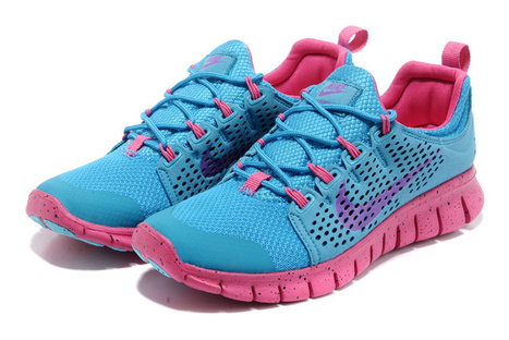 Nike Free Powerlines 2 Womens Blue Pink Purple Shoes Cheap Now | Fashion world! | Scoop.it
