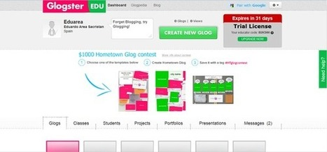 ¿Qué es Glogster EDU?: Plataforma de Educación Global Para la Expresión Creativa | Tecnología Educativa S XXI | Scoop.it
