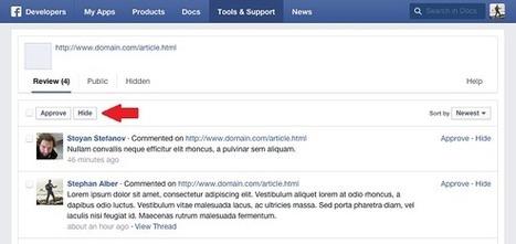 Facebook améliore son système de commentaires intégré dans les sites | INFORMATIQUE 2015 | Scoop.it