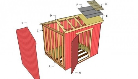 Saltbox Shed Plans | Free Outdoor Plans - DIY Shed, Wooden Playhouse, Bbq, Woodworking Projects | Diy Shed Plans Free | Scoop.it