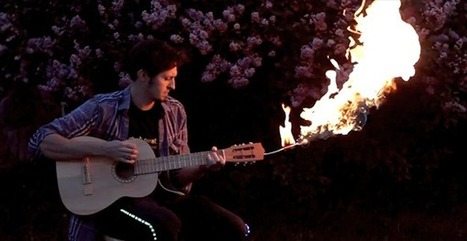 FLAMEnco – Flame throwing guitar sets the stage on fire | DamnGeeky | Scoop.it